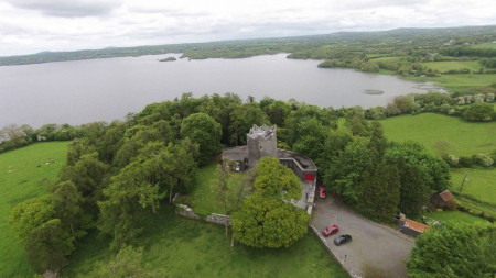 Ross Castle from the air