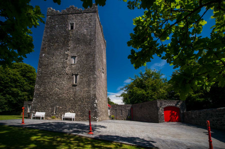Ross Castle Tower and main entrance